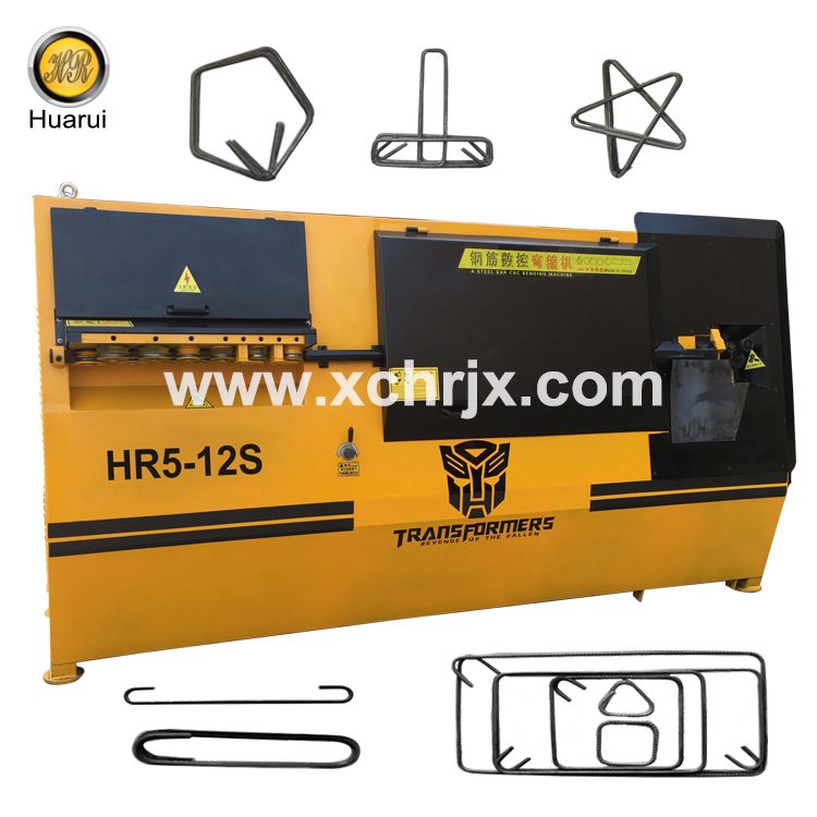 Hot Sale 10mm 12mm HR5-12S Rebar Stirrup Cnc Wire Bending Machine