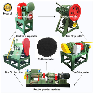 Waste/ Used Tire Recycling Machine Prices/ Tire Recycling Line