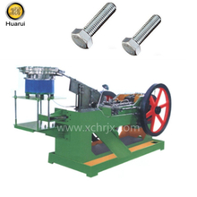 Screw Bolt Head Edge Cutting Trimming Machine/ Bolt Making Machine