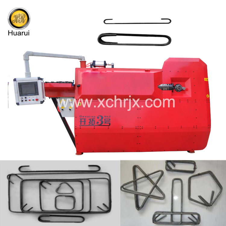 High quality Automatic Feeding Develop No.3 Rebar Bender