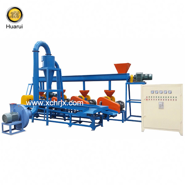 Automatic Tire Rubber Powder Grinder for 40-120 Mesh Fine Powder