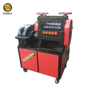 Scrap Steel Bar Wire Straightening Machine