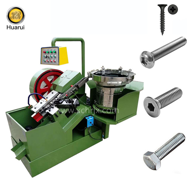 Automatic drywall screw making machine/self tapping screw machine